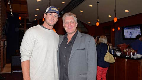 David Freese and Brett Hull