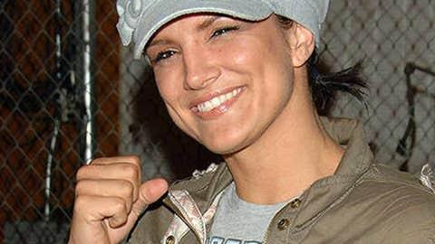 MMA fighter Gina Carano.