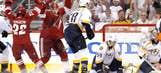 Friday's NHL playoff photos