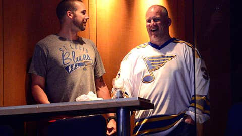 Chris Carpenter and Keith Tkachuk