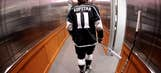 Kopitar leaves Kings' game with upper body injury