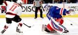 Rangers-Devils Game 5 photos