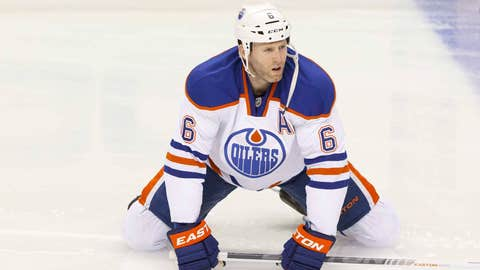 Oilers defenseman Ryan Whitney (@ryanwhitney6)