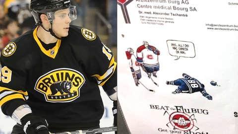 Bruins center Tyler Seguin (@tylerseguin92)
