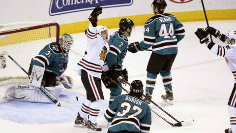 Game 10: Blackhawks 5, Sharks 3