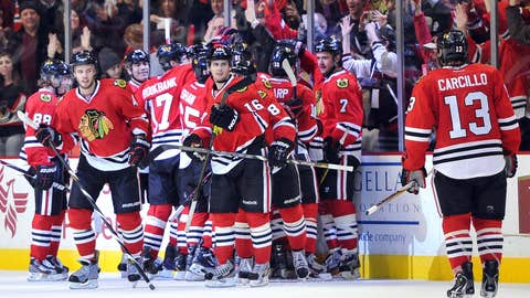 Game 21: Blackhawks 4, Blue Jackets 3 (OT)