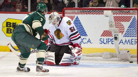 Game 7: Wild 3, Blackhawks 2 (SO)