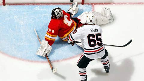 Game 9: Blackhawks 3, Flames 2 (SO)