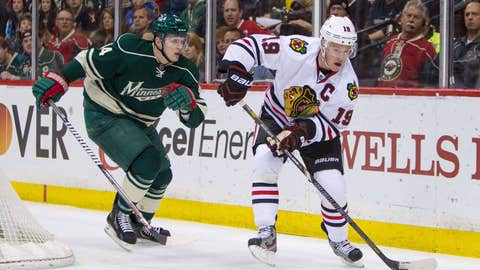 1 Blackhawks vs. 8 Wild