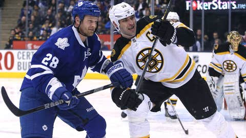 4 Bruins vs. 5 Maple Leafs