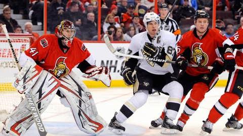 East: 1 Penguins vs. 7 Senators