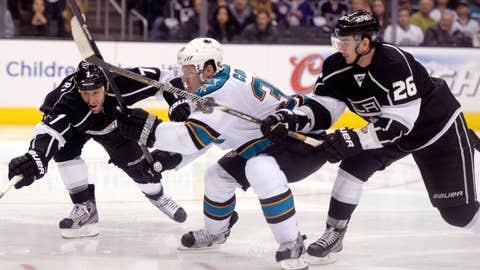 West: 5 Kings vs. 6 Sharks