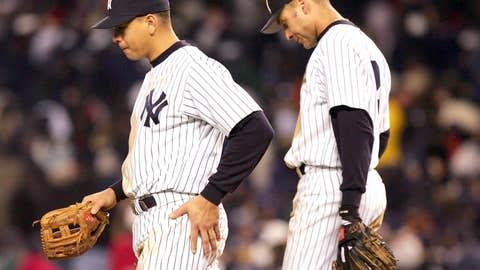 Image: Alex Rodriguez and Derek Jeter (Jed Jacobsohn/Getty Images)