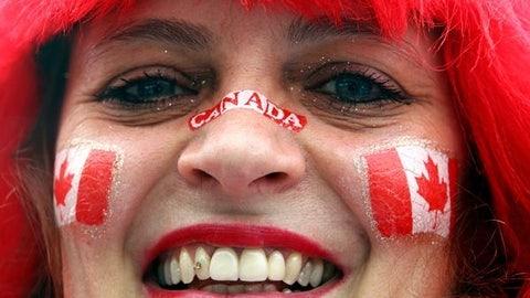 Nose Canada!