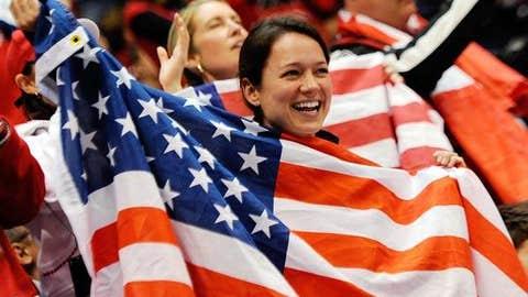 Glad for the flag