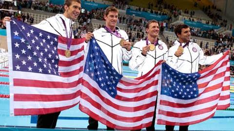 Swimming (men's 4 x 200 relay)