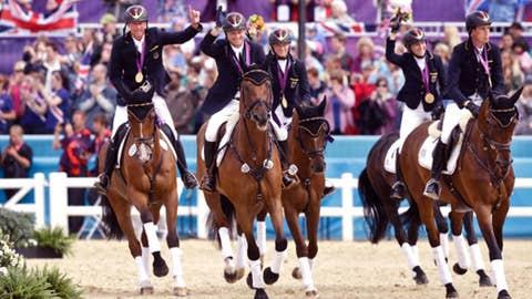 Equestrian (team eventing)