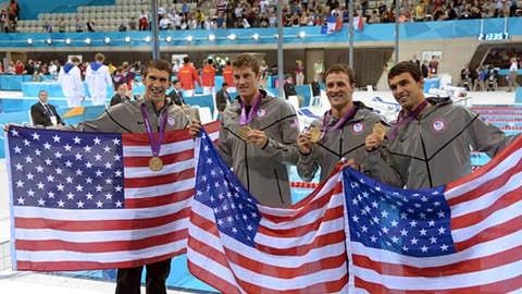 Men's 4x200m freestyle relay team