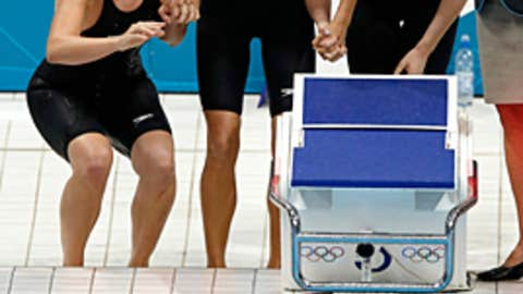 Allison Schmitt, Shannon Vreeland, Dana Vollmer, & Missy Franklin