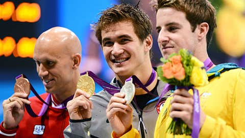 Swimming (men's 100m freestyle)