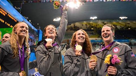 Swimming (Women's 4 x 200m Freestyle Relay)