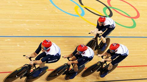 Cycling – men's team pursuit