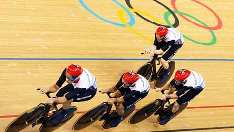 Cycling – men's team pursuit