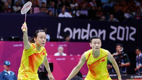 Badminton – mixed doubles