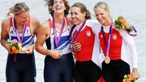 Rowing – women's double sculls