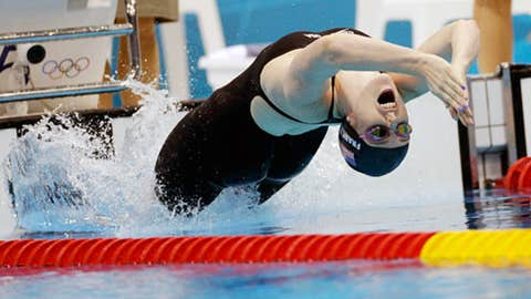 Swimming – women's 200-meter backstroke