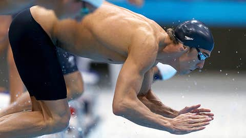2012 London: 4x100m freestyle relay