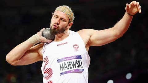 Track & field – men's shotput