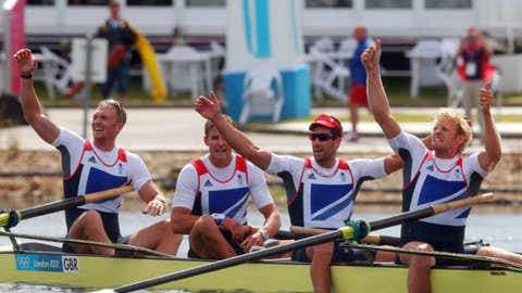 Rowing – men's four