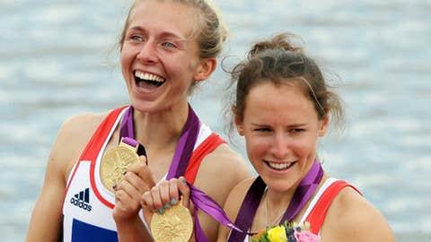 Rowing – women's lightweight double sculls