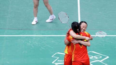 Badminton – women's doubles