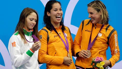 Swimming – women's 50-meter freestyle