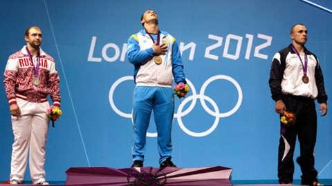 Weightlifting – men's 94 kg