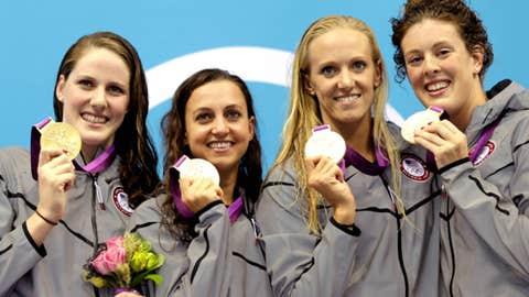 Swimming – women's 4x100-meter medley relay