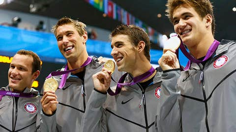 2012 London: 4x100m medley relay