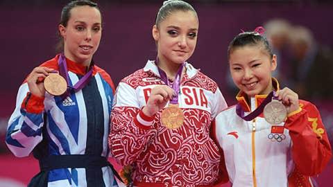 Gymnastics - women's uneven bars
