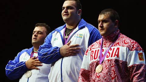 Weightlifting – men's +105 kg