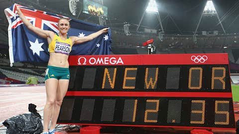 Track & field – women's 100-meter hurdles