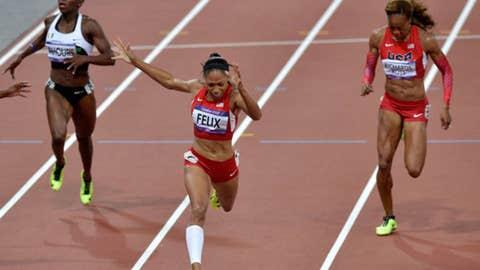 200-meter final - women's