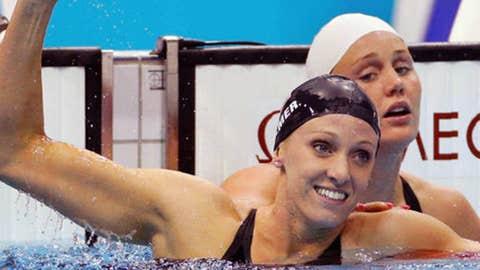 Dana Vollmer, Swimming