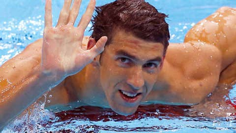 Michael Phelps, Swimming