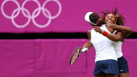 Williams sisters celebrate