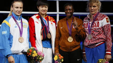 Boxing – women's middleweight