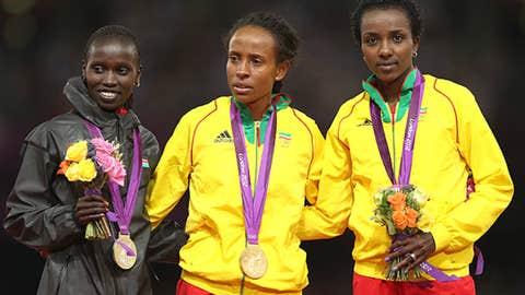 5,000 meters - women