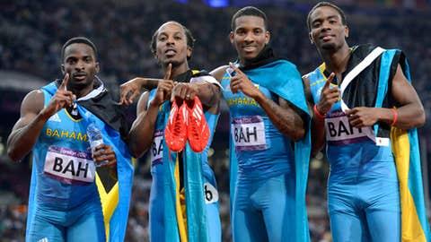 4x400 relay - men's