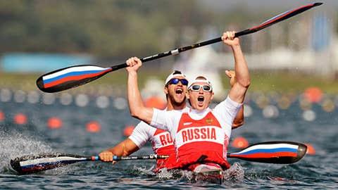 Canoe/Kayak – men's 200-meter K2